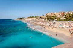 Het strand van Gr Duque stock afbeeldingen