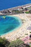 Het strand van Gran Canaria royalty-vrije stock afbeelding