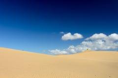 Het strand van Gran Canaria Dune Di Maspalomas Stock Afbeeldingen