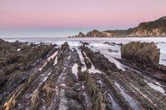 Het strand van Gueirua Royalty-vrije Stock Afbeelding