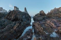 Het strand van Gueirua Royalty-vrije Stock Foto