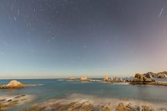 Het strand van Gueirua Royalty-vrije Stock Fotografie