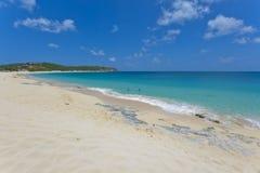 Het strand van heilige Martin Stock Afbeeldingen