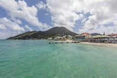 Het strand van heilige Martin Stock Foto's