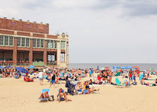 Het Strand van het Asburypark Royalty-vrije Stock Foto's