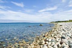 Het Strand van het grint royalty-vrije stock foto
