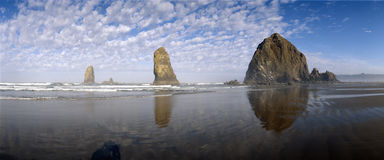 Het Strand van het kanon, royalty-vrije stock fotografie
