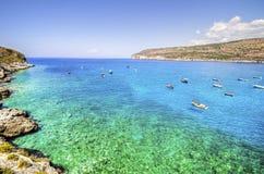 Het strand van het paradijs stock afbeelding