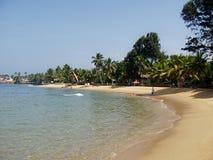 Het strand van het zand Royalty-vrije Stock Afbeeldingen