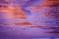 Het strand van het zand Stock Foto