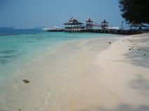 Het strand van het zand stock fotografie