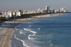 Het Strand van het zuiden, Miami Stock Foto's