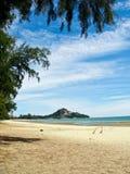 Het strand van Hin van Hua Royalty-vrije Stock Foto