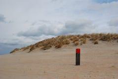 Het strand van Holland Royalty-vrije Stock Afbeeldingen