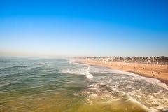 Het Strand van Huntington Royalty-vrije Stock Afbeeldingen