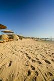 Het Strand van Hurghada stock foto's