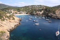 Het Strand van Ibiza Stock Foto