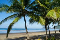 Het strand van Idilic royalty-vrije stock foto's
