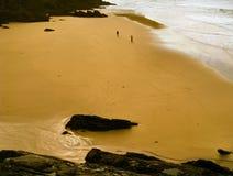 Het strand van Ierland Stock Foto