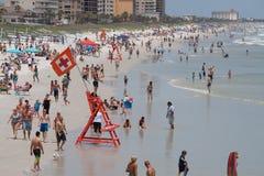 Het Strand van Jacksonville Stock Foto's