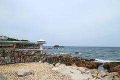 Het Strand van Japan Shirahama Stock Foto