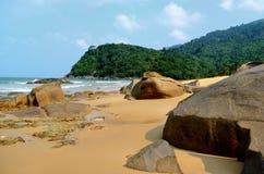 Het strand van Juara Stock Foto's