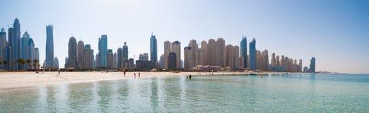 Het strand van Jumeirah Stock Afbeelding