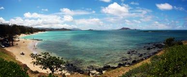 Het Strand van Kailua Stock Afbeeldingen