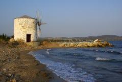 Het Strand van Kalives Stock Fotografie
