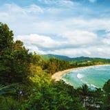 Het strand van Kamala Stock Foto