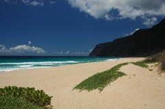 Het Strand van Kauai Stock Foto's