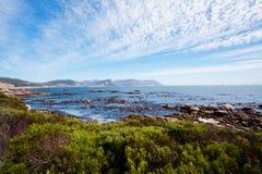 Het strand van keien, Kaapstad Stock Afbeeldingen