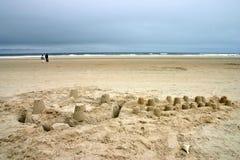 Het Strand van Kennebunk, Maine Royalty-vrije Stock Fotografie