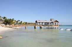 Het strand van Key West, Florida Royalty-vrije Stock Foto