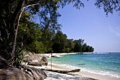 Het strand van Khoadang Stock Foto's
