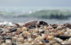 Het strand van kiezelstenen Royalty-vrije Stock Afbeelding
