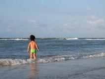 Het strand van kinderen royalty-vrije stock fotografie