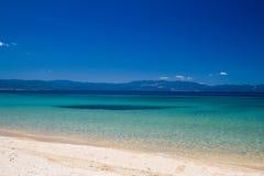 Het strand van Komitsa Stock Fotografie