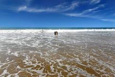 Het Strand van Kovalam stock afbeeldingen