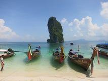 Het strand van Krabi Stock Foto's