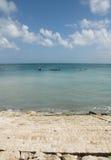 Het strand van Kuta. Bali Stock Foto's