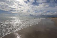 Het Strand van Kuta, Bali, Indonesië Stock Foto's