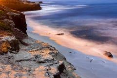 Het strand van La Jolla Royalty-vrije Stock Afbeelding