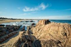 Het strand van La Pedrera Royalty-vrije Stock Afbeelding
