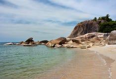 Het Strand van Lamai Royalty-vrije Stock Foto's