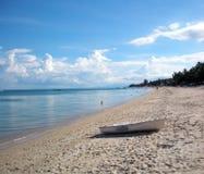 Het Strand van Lamai, Koh Samui stock foto's