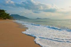 Het Strand van Lamai, Koh Samui, Thailand Stock Afbeeldingen