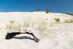Het strand van Le Dune, Porto Pino, Sardinige, Italië Royalty-vrije Stock Afbeelding