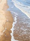 Het strand van Lincolnshire Stock Afbeelding