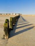 Het strand van Littlehampton in de winter Royalty-vrije Stock Fotografie